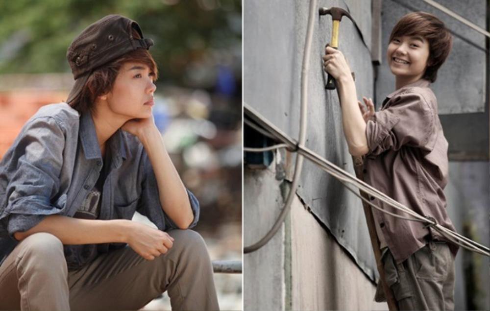 Những màn giả trai ấn tượng của mỹ nhân Việt: Khởi My quá thư sinh, Hari Won menly đến bất ngờ. Ảnh 16