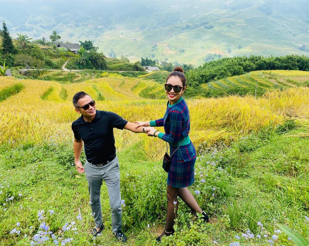 Vợ chồng hoa hậu Jennifer Phạm say đắm 'khiêu vũ' giữa đất trời Sapa Ảnh 5