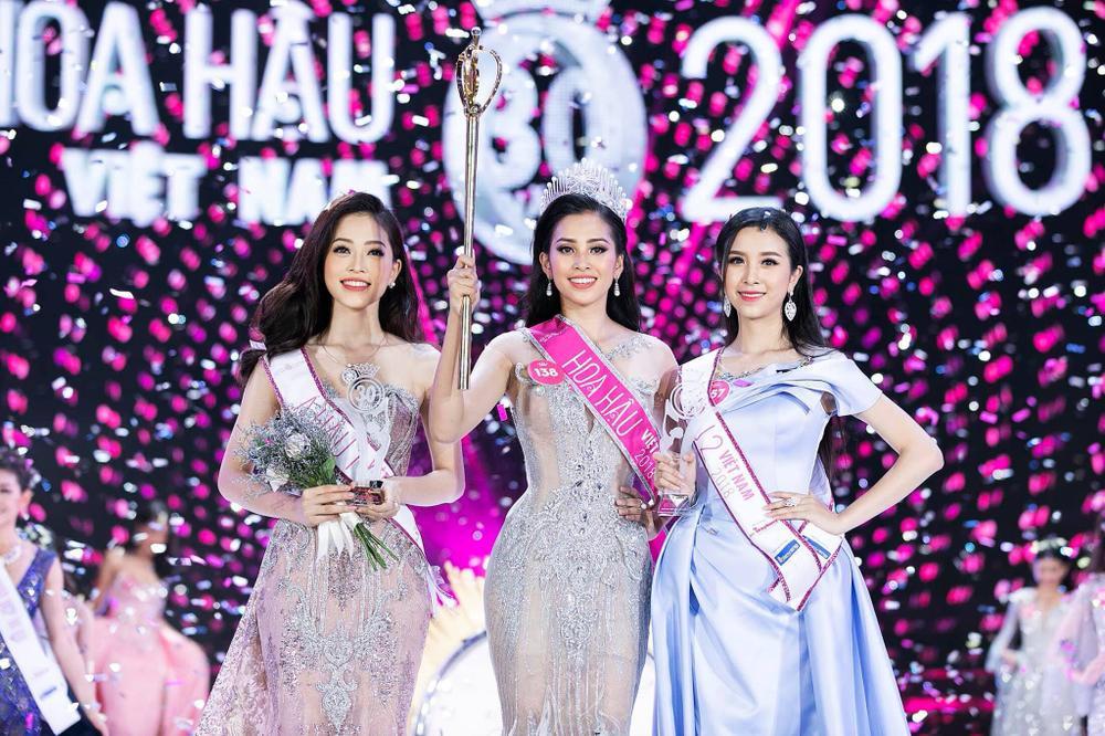 Tiểu Vy - Phương Nga - Thúy An thăng hạng nhan sắc sau 2 năm đăng quang Hoa hậu Việt Nam Ảnh 2