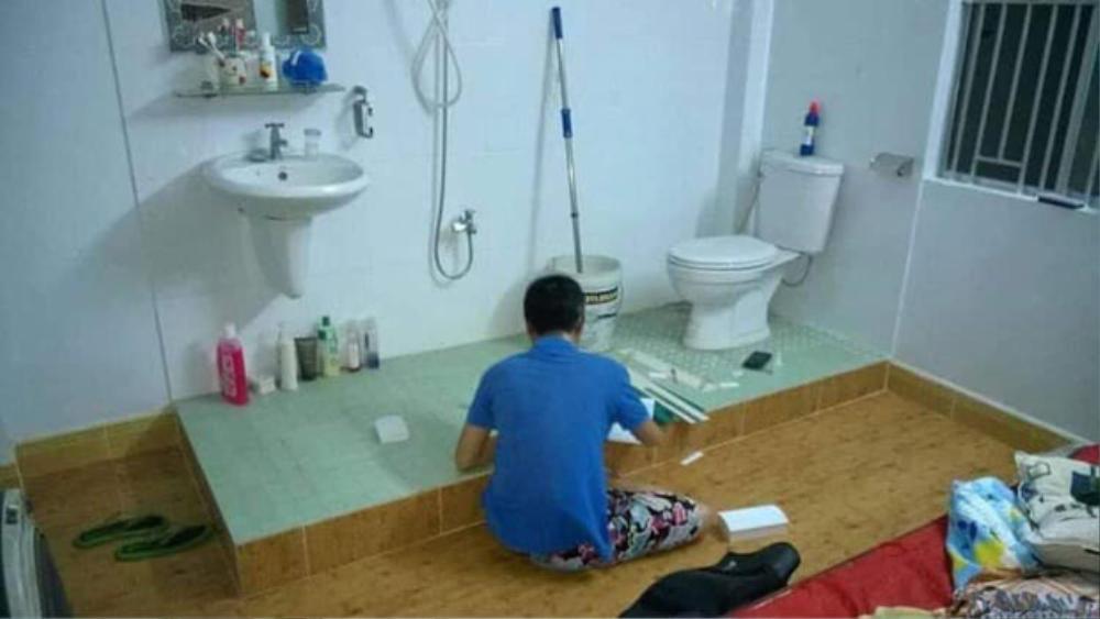 Dân mạng 'sốc' với phòng trọ có 1-0-2 giữa lòng thành phố: 'Nhà vệ sinh trong, phòng tắm thiết kế ra ngoài như... khách sạn 4 sao' Ảnh 1