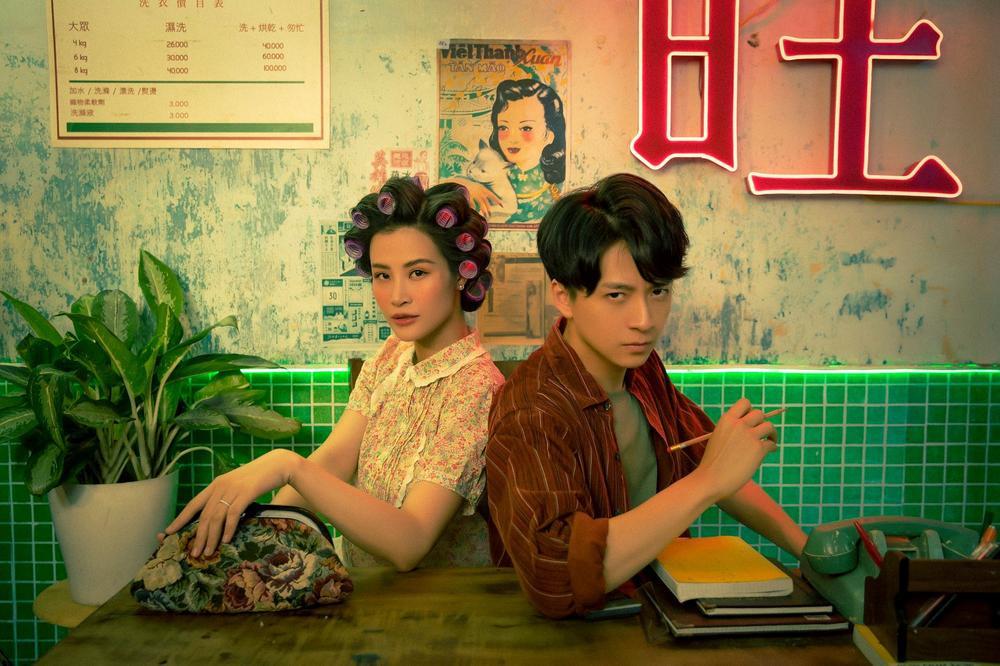 Đông Nhi làm cameo cho MV mới của Ngô Kiến Huy dù đang mang thai 7 tháng Ảnh 4