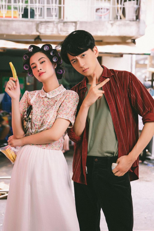 Đông Nhi làm cameo cho MV mới của Ngô Kiến Huy dù đang mang thai 7 tháng Ảnh 2