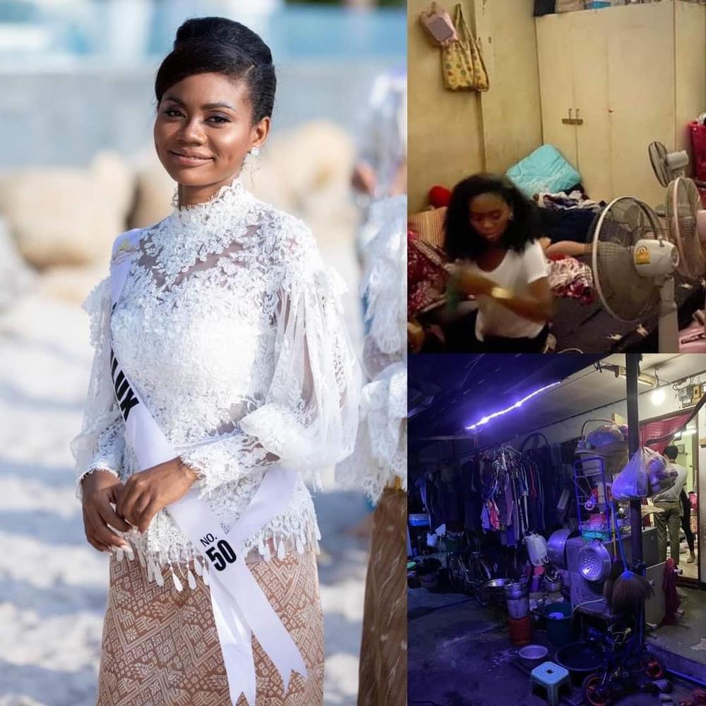 Nhan sắc da màu lai 3 dòng máu 'gây sốt' tại Miss Universe Thailand 2020, nghèo khó, sống ở khu ổ chuột, đi thi bằng xe buýt Ảnh 7