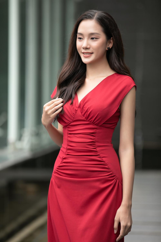 Loạt người đẹp đầy tiềm năng cùng khoe sắc tranh vương miện Hoa hậu Việt Nam 2020 Ảnh 6
