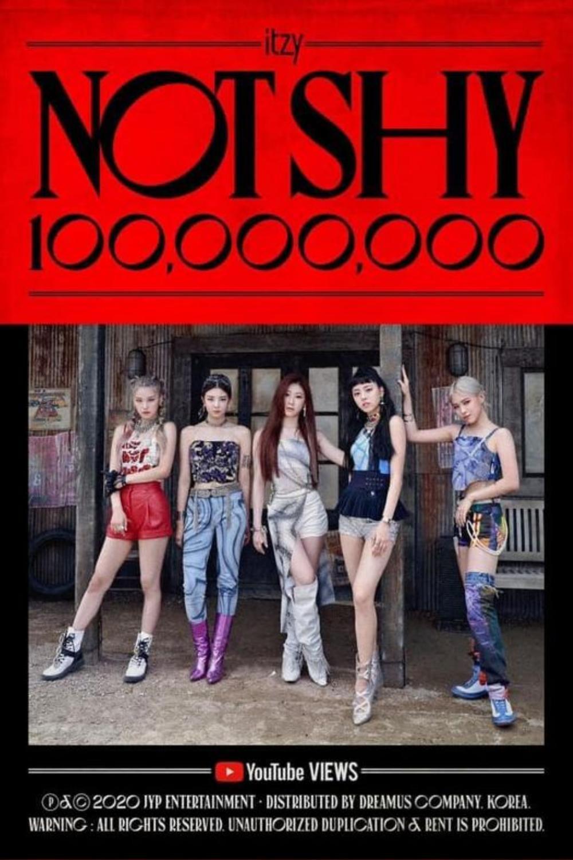 Not shy của ITZY đạt 100 triệu view, trở thành MV nhanh nhất của nhóm đạt được thành tích này Ảnh 1