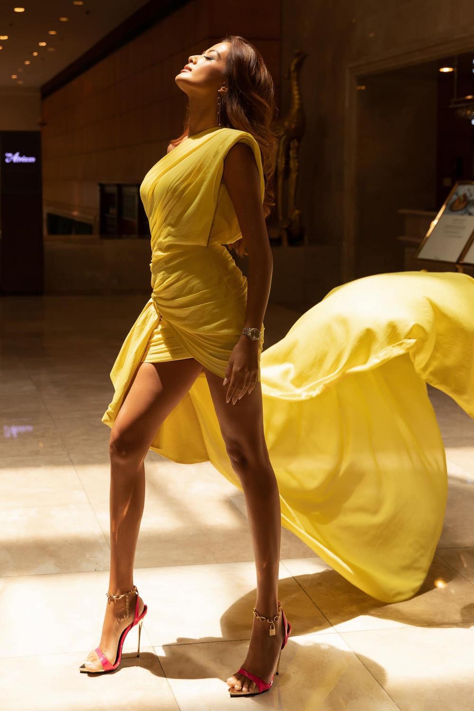 Vượt dàn Hoa hậu, Ngọc Trinh chỉ hở nhẹ cũng điềm nhiên dẫn đầu bảng xếp hạng sao đẹp Ảnh 12
