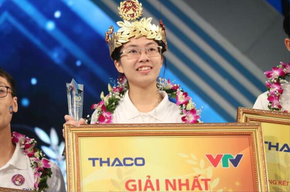 Ninh Bình vinh danh, khen thưởng Quán quân 'Đường lên đỉnh Olympia' năm thứ 20 Nguyễn Thị Thu Hằng Ảnh 1