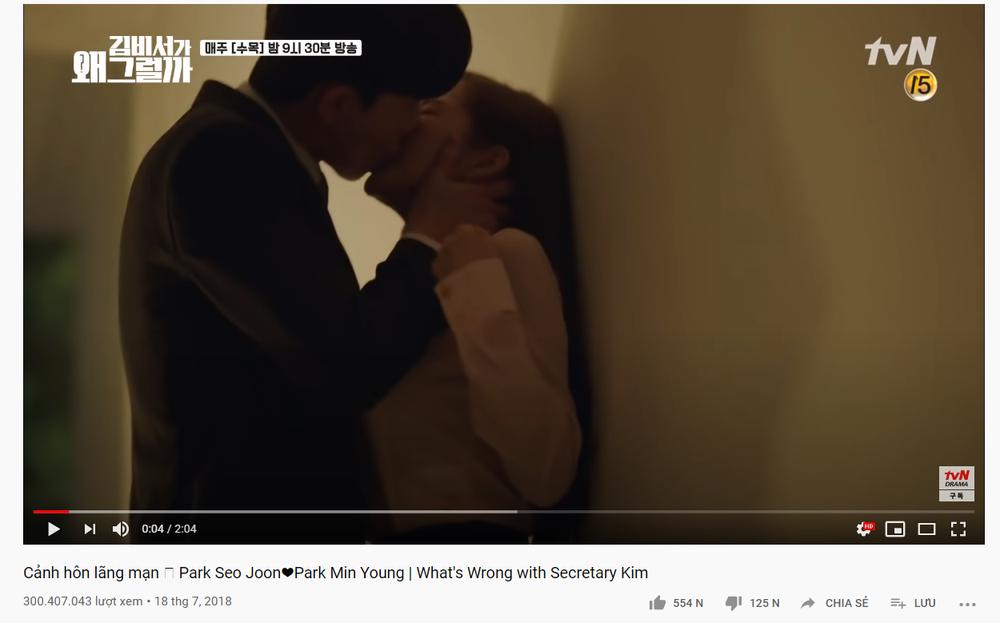 Cảnh giường chiếu 'ướt át' của Park Seo Joon - Park Min Young đạt 300 triệu view chỉ sau 1 tháng Ảnh 1