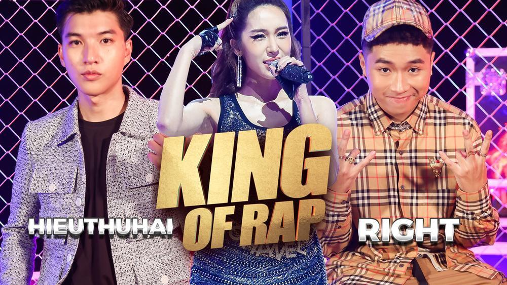 Trước giờ lên sóng KING OF RAP: HIEUTHUHAI e ngại 'kèo này hơi căng khi đấu với RIGHT' Ảnh 1