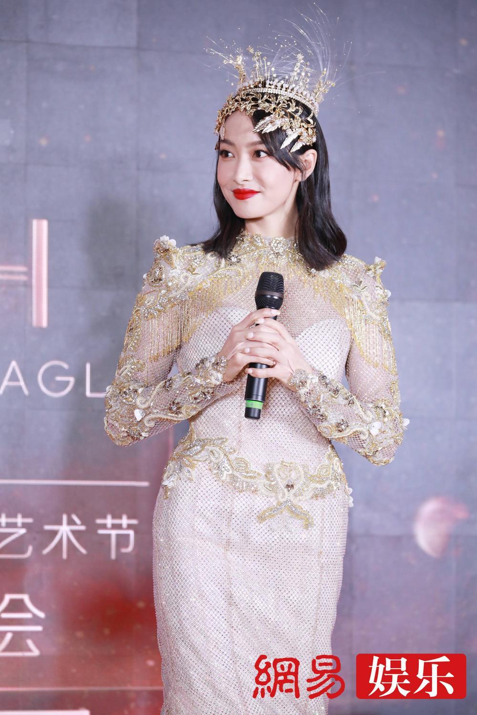 'Kim Ưng 2020': Tống Thiến trở thành nữ thần, Quan Hiểu Đồng kém sắc, Đàm Tùng Vận rạng rỡ bên Tống Uy Long Ảnh 52