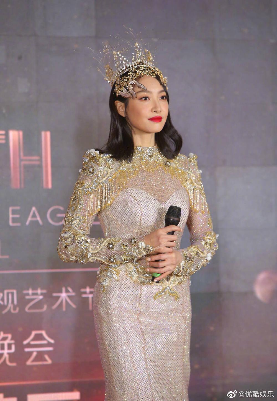 'Kim Ưng 2020': Tống Thiến trở thành nữ thần, Quan Hiểu Đồng kém sắc, Đàm Tùng Vận rạng rỡ bên Tống Uy Long Ảnh 42