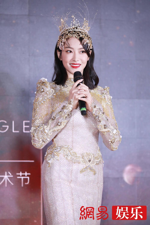 'Kim Ưng 2020': Tống Thiến trở thành nữ thần, Quan Hiểu Đồng kém sắc, Đàm Tùng Vận rạng rỡ bên Tống Uy Long Ảnh 55