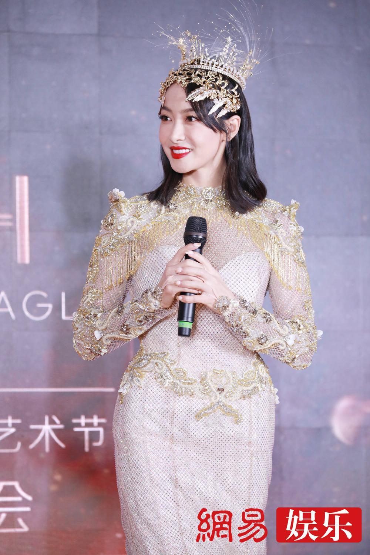 'Kim Ưng 2020': Tống Thiến trở thành nữ thần, Quan Hiểu Đồng kém sắc, Đàm Tùng Vận rạng rỡ bên Tống Uy Long Ảnh 50