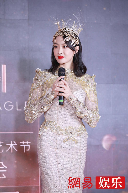 'Kim Ưng 2020': Tống Thiến trở thành nữ thần, Quan Hiểu Đồng kém sắc, Đàm Tùng Vận rạng rỡ bên Tống Uy Long Ảnh 53