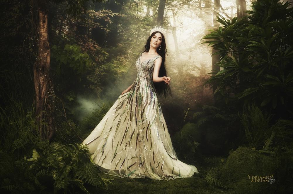 Lan Khuê hóa nữ thần rừng quyền uy, thần thái đỉnh cao đầy mị lực Ảnh 10