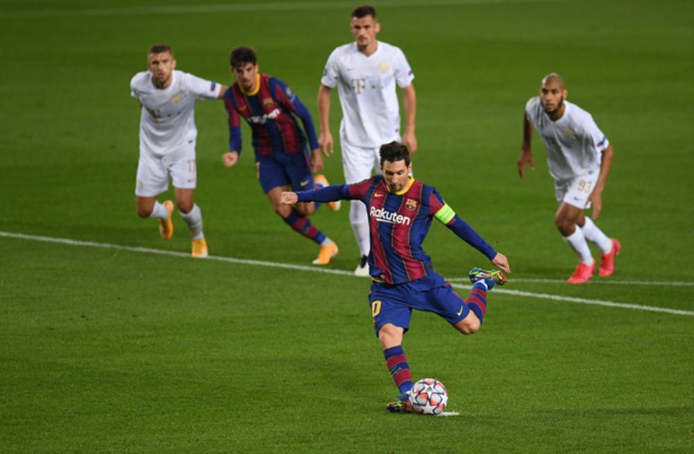Messi lập kì tích vô tiền khoáng hậu ở Champions League Ảnh 1