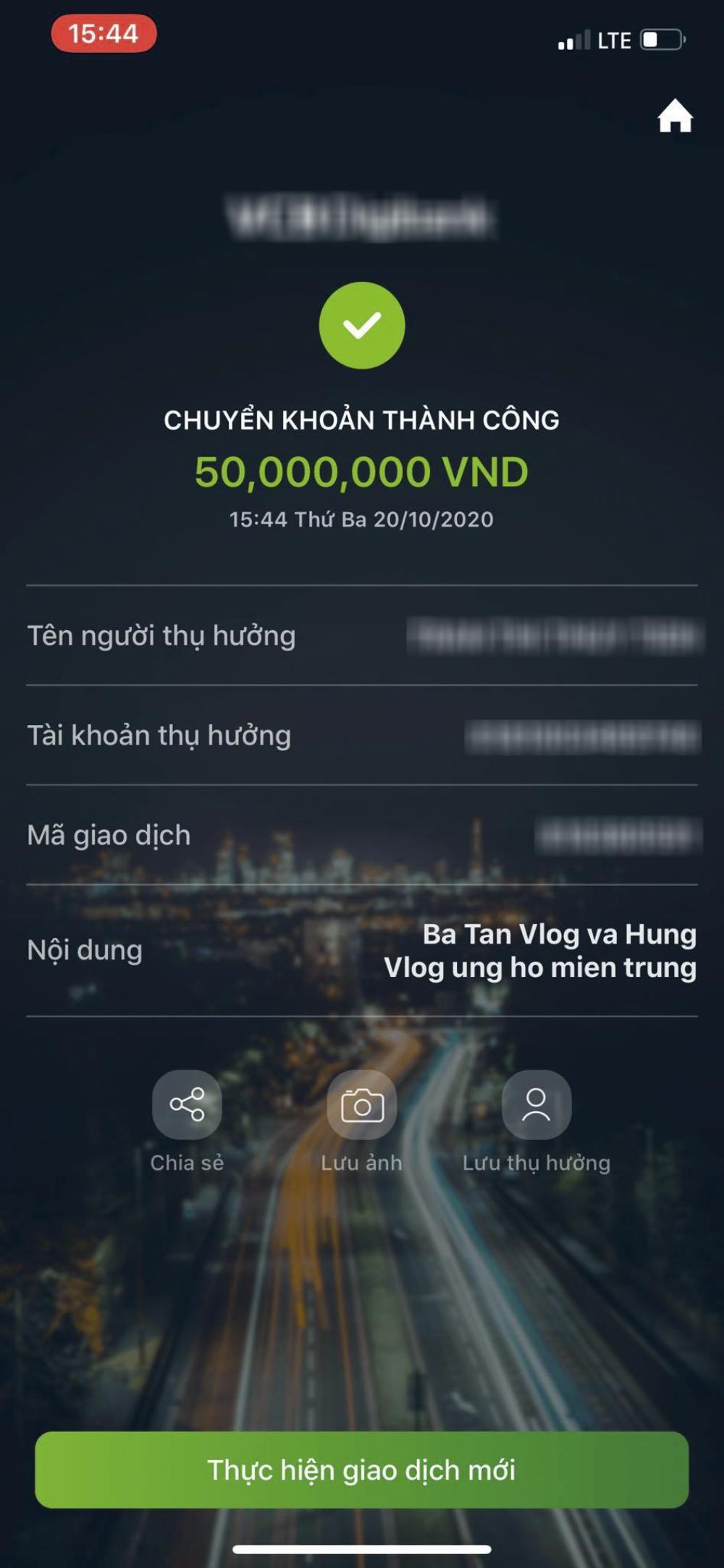 Ủng hộ miền Trung 50 triệu đồng, Bà Tân Vlog vẫn bị buông lời cạnh khoé vì lý do không tưởng Ảnh 2
