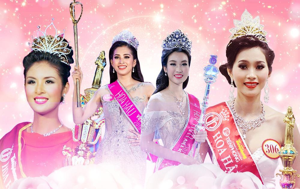 Vẻ đẹp thuần khiết của 16 cô gái thuở mới đăng quang Hoa hậu Việt Nam: Chờ đợi nhan sắc kế nhiệm Tiểu Vy Ảnh 1