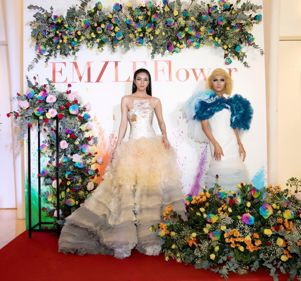 Emily Hồng Nhung mặc váy cắt xẻ cực gắt, đọ sắc bên Mộng Thường Hoa hậu chuyển giới Việt Nam 2020 Ảnh 5