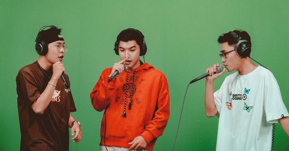Hậu dừng chân tại King Of Rap, Kenji và Sóc Nâu hội ngộ HIEUTHUHAI trong đêm hội Halloween Ảnh 2