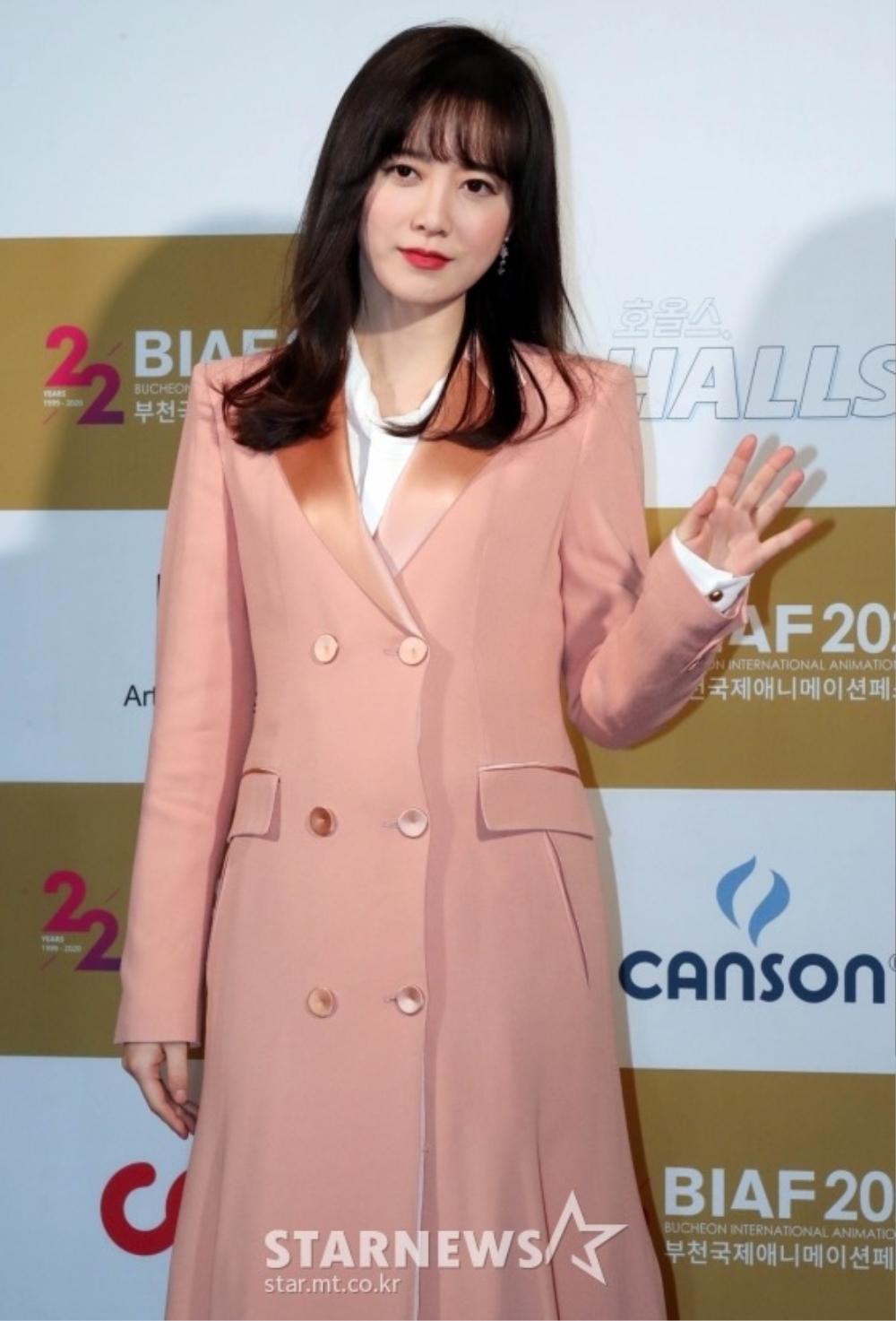 Goo Hye Sun rạng rỡ sau ly hôn, đọ sắc loạt sao Hàn trên thảm đỏ 'LHP Bucheon 2020' Ảnh 24