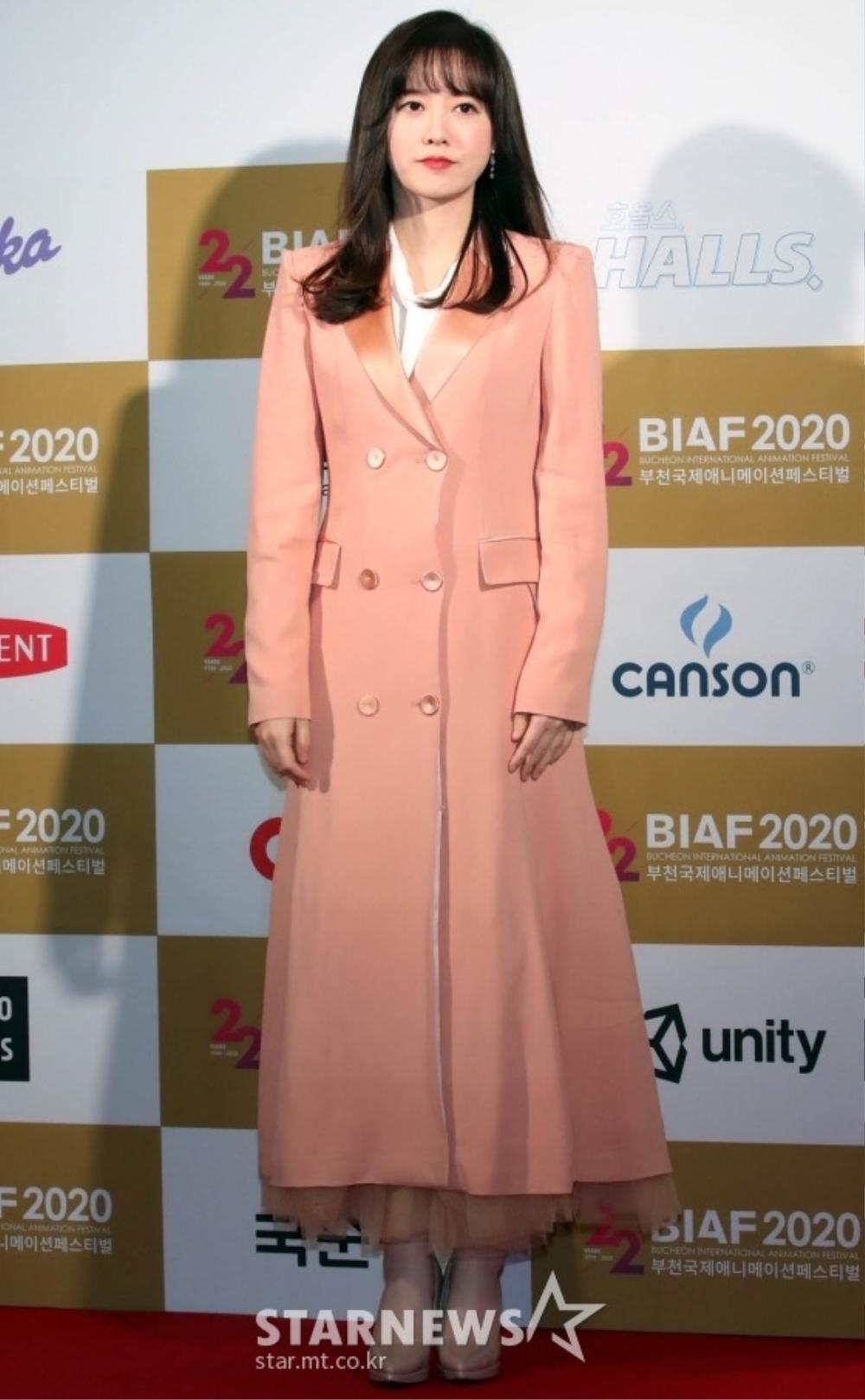 Goo Hye Sun rạng rỡ sau ly hôn, đọ sắc loạt sao Hàn trên thảm đỏ 'LHP Bucheon 2020' Ảnh 2