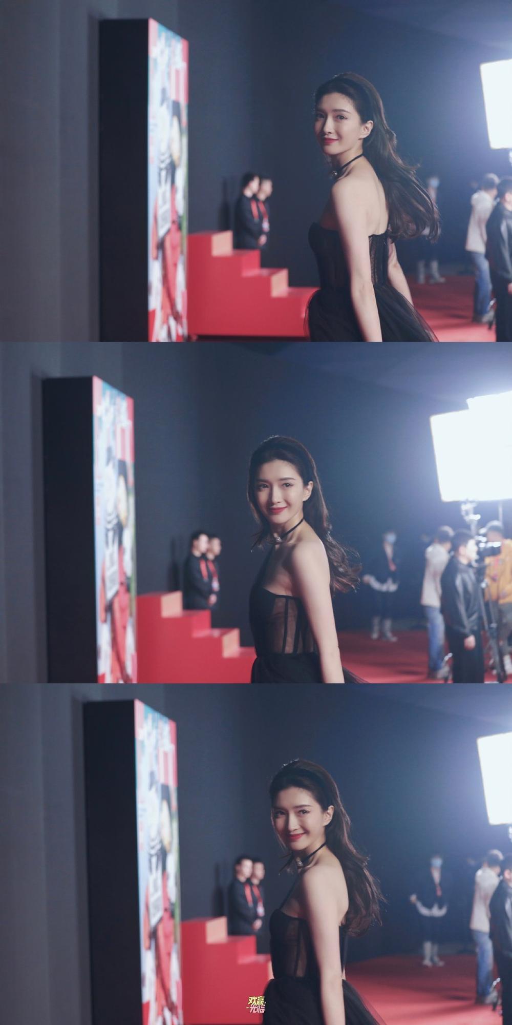 Thảm đỏ 'Đêm hội ELLE 2020': Dương Mịch đọ sắc Đường Yên - Cổ Lực Na Trát, Giang Sở Ảnh diện váy xuyên thấu Ảnh 56