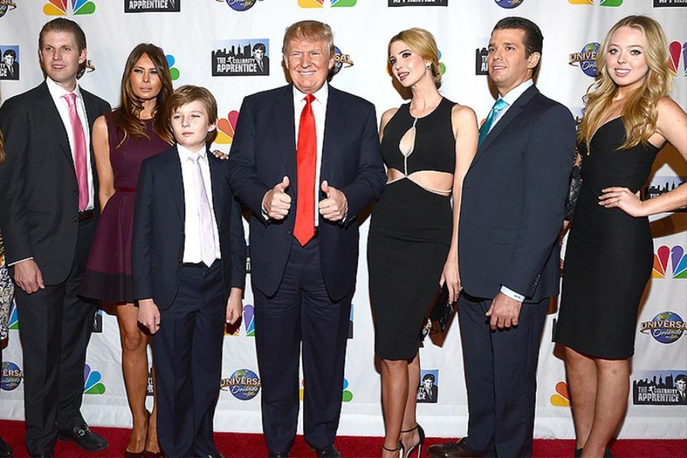 Trình độ học vấn gây bất ngờ của các con Tổng thống Mỹ - Donald Trump Ảnh 1