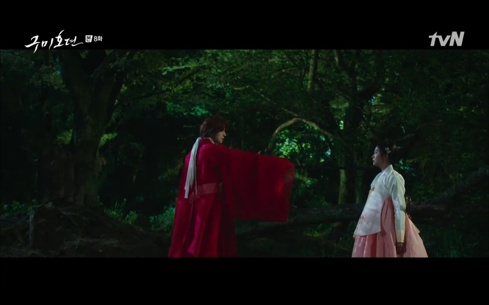 'Bạn trai tôi là hồ ly' tập 8: Bỏ mặc người tình, Lee Dong Wook xả thân cứu em trai Kim Bum trước? Ảnh 8
