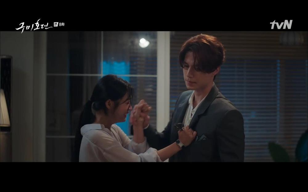 'Bạn trai tôi là hồ ly' tập 8: Bỏ mặc người tình, Lee Dong Wook xả thân cứu em trai Kim Bum trước? Ảnh 15
