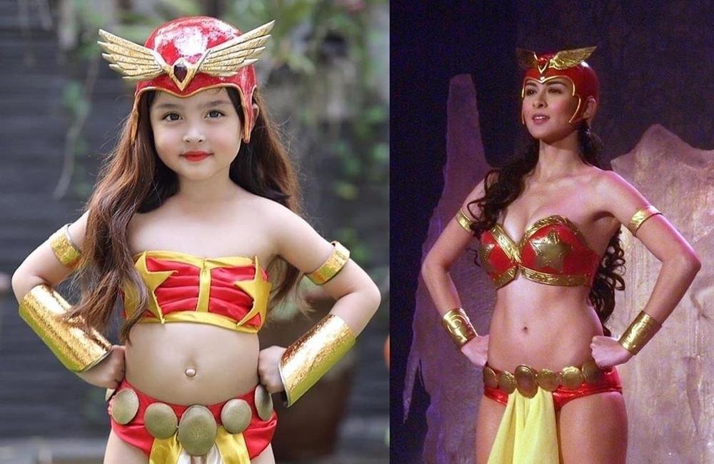 Con gái 'mỹ nhân đẹp nhất Philippines' Marian Rivera gây sốt khi cosplay công chúa Jasmine Ảnh 6