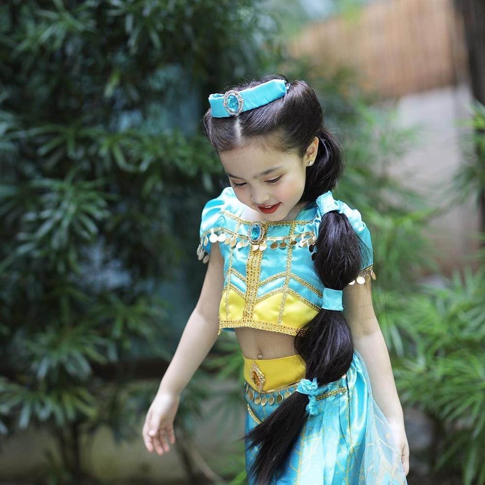Con gái 'mỹ nhân đẹp nhất Philippines' Marian Rivera gây sốt khi cosplay công chúa Jasmine Ảnh 4