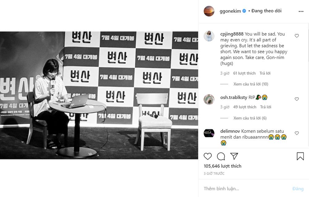 Kim Go Eun, Junho, SHINee, Suju và hàng loạt sao Hàn sốc trước tin Park Ji Sun qua đời Ảnh 19