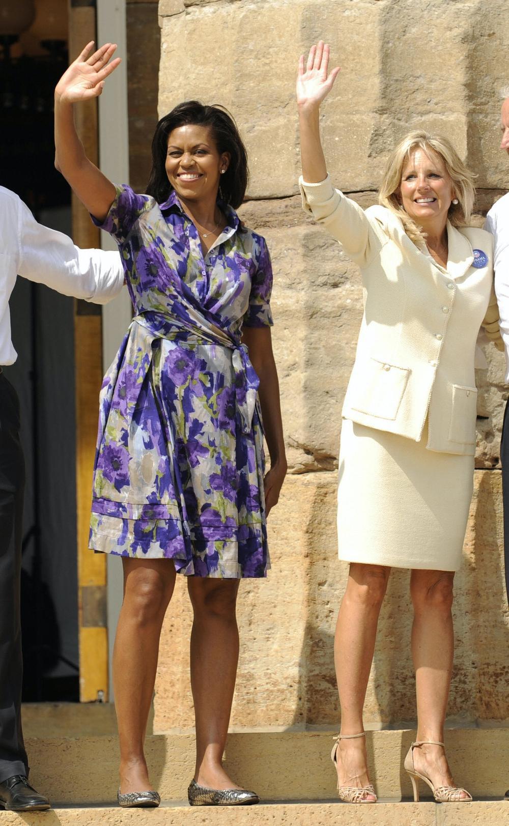 Phong cách thời trang thanh tao của vợ ứng viên Tổng thống Mỹ Joe Biden Ảnh 5
