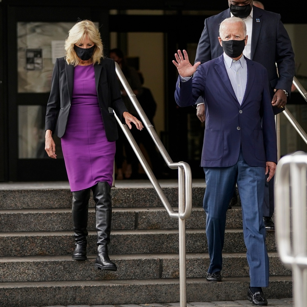 Phong cách thời trang thanh tao của vợ ứng viên Tổng thống Mỹ Joe Biden Ảnh 9