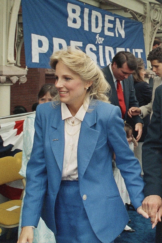 Phong cách thời trang thanh tao của vợ ứng viên Tổng thống Mỹ Joe Biden Ảnh 2