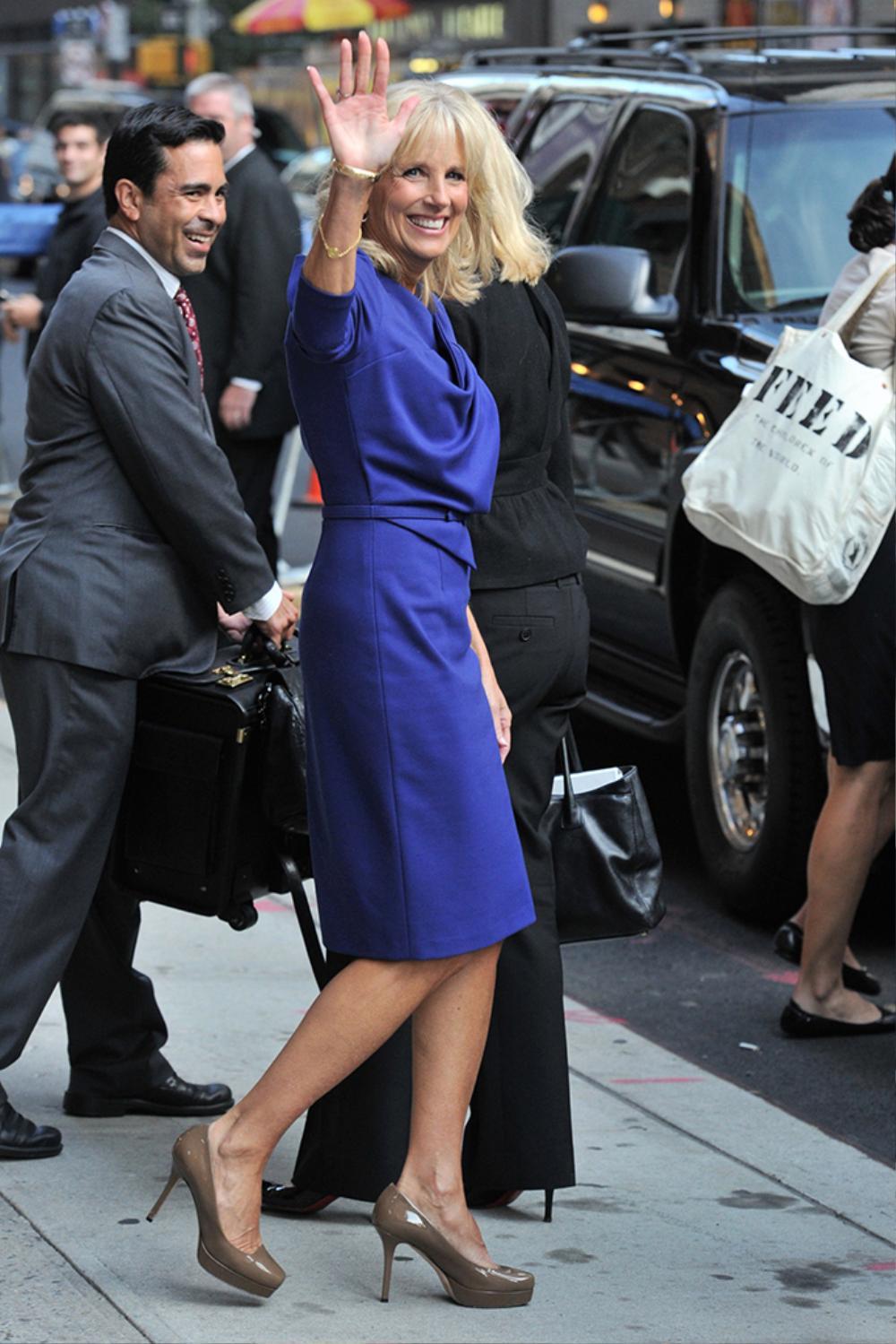 Phong cách thời trang thanh tao của vợ ứng viên Tổng thống Mỹ Joe Biden Ảnh 6