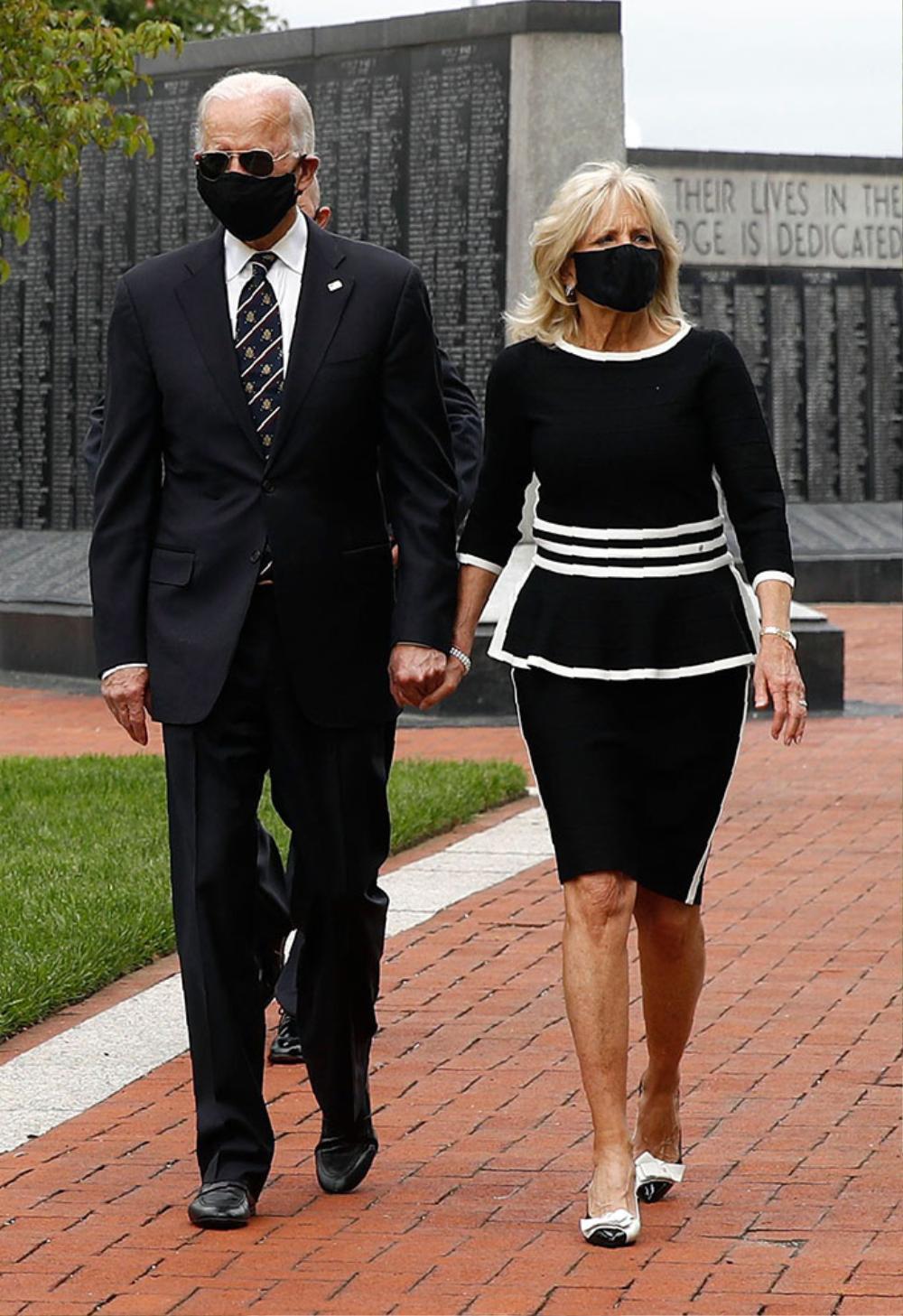 Phong cách thời trang thanh tao của vợ ứng viên Tổng thống Mỹ Joe Biden Ảnh 12