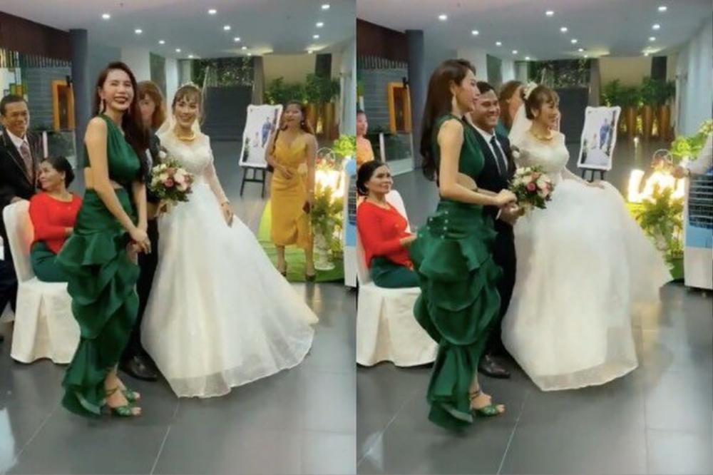 Sao Việt bị la ó vì mặc quá nổi tại đám cưới, riêng Thủy Tiên được khen dù 'lấn át' cô dâu Ảnh 7