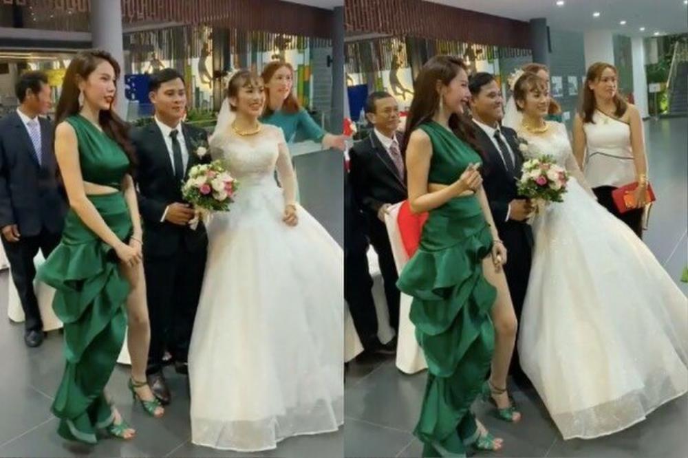 Sao Việt bị la ó vì mặc quá nổi tại đám cưới, riêng Thủy Tiên được khen dù 'lấn át' cô dâu Ảnh 8