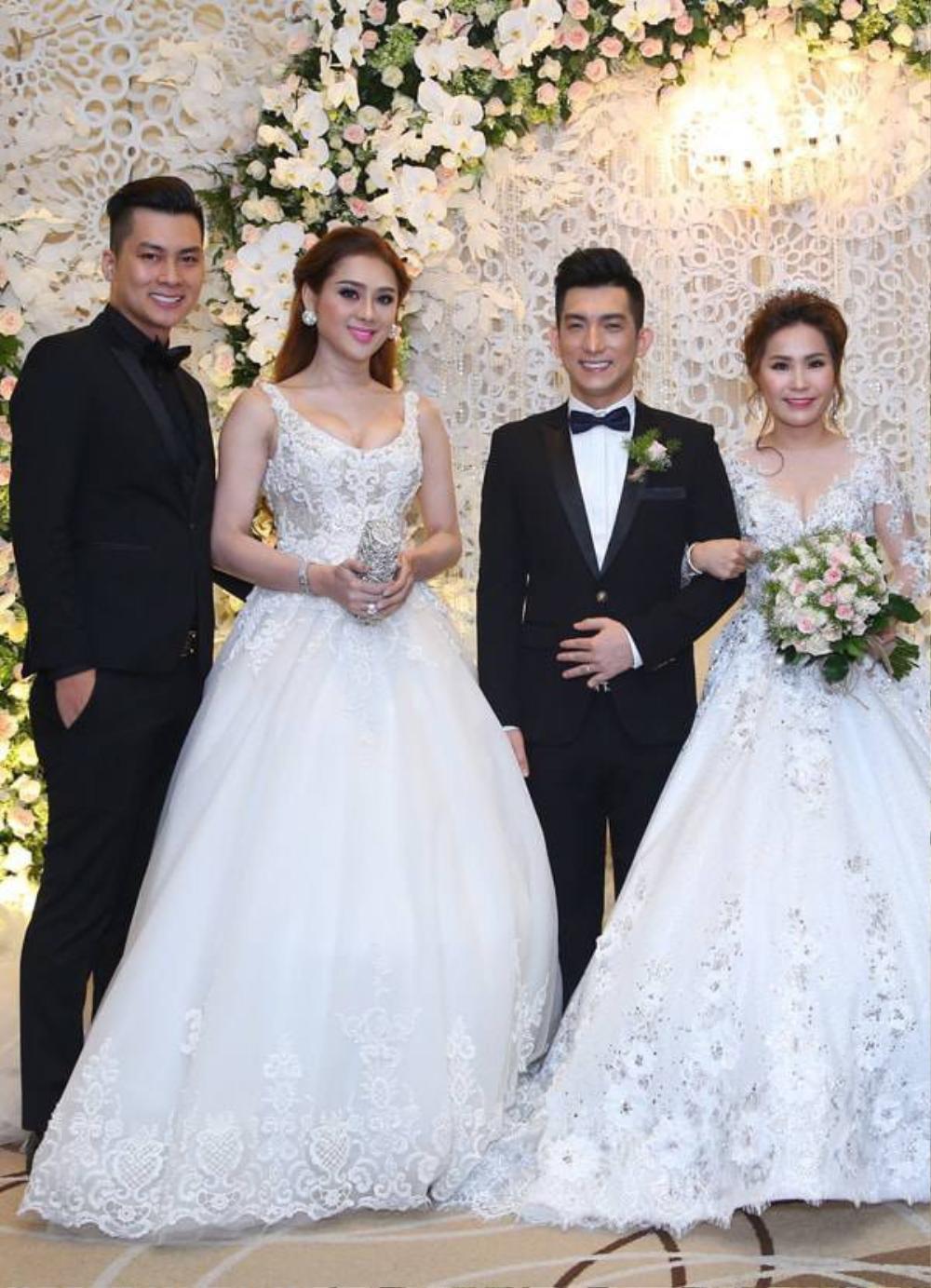 Sao Việt bị la ó vì mặc quá nổi tại đám cưới, riêng Thủy Tiên được khen dù 'lấn át' cô dâu Ảnh 6