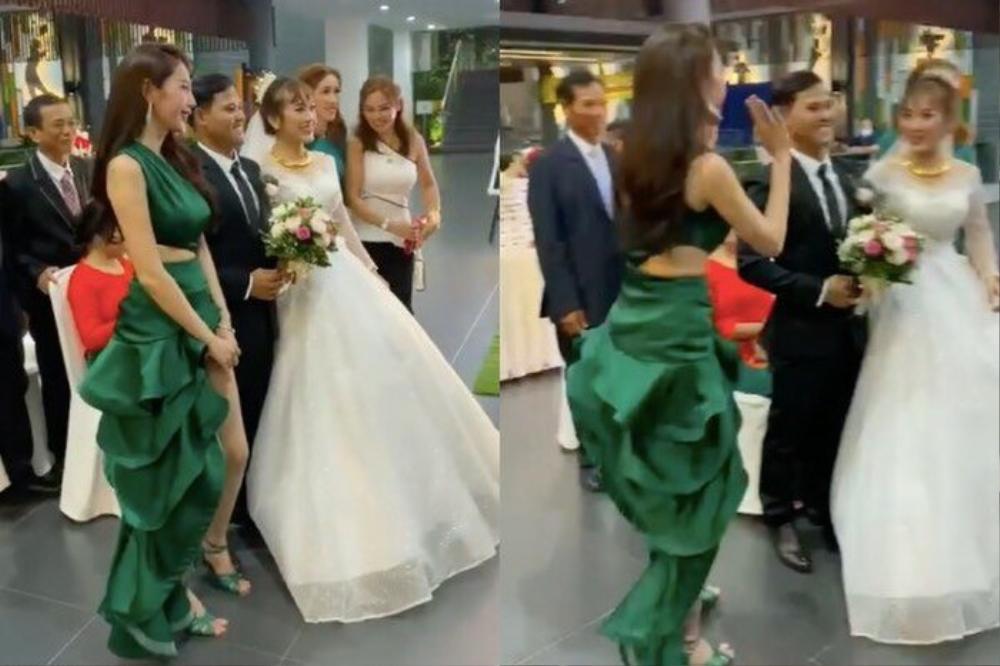 Sao Việt bị la ó vì mặc quá nổi tại đám cưới, riêng Thủy Tiên được khen dù 'lấn át' cô dâu Ảnh 9