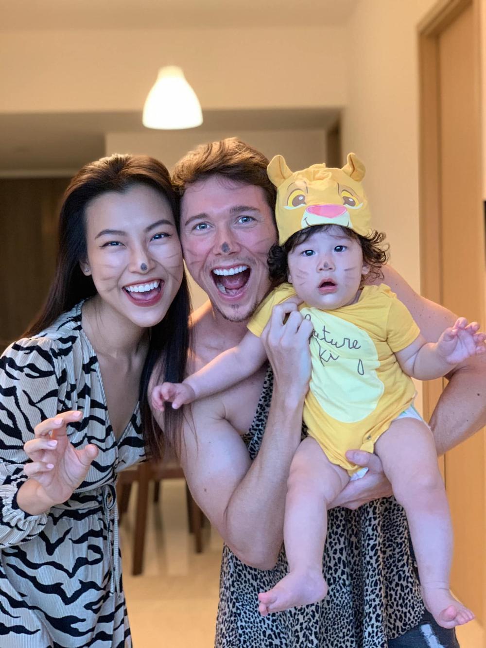 MC Hoàng Oanh đăng ảnh tình tứ kèm lời mật ngọt mừng sinh nhật chồng Tây Ảnh 2