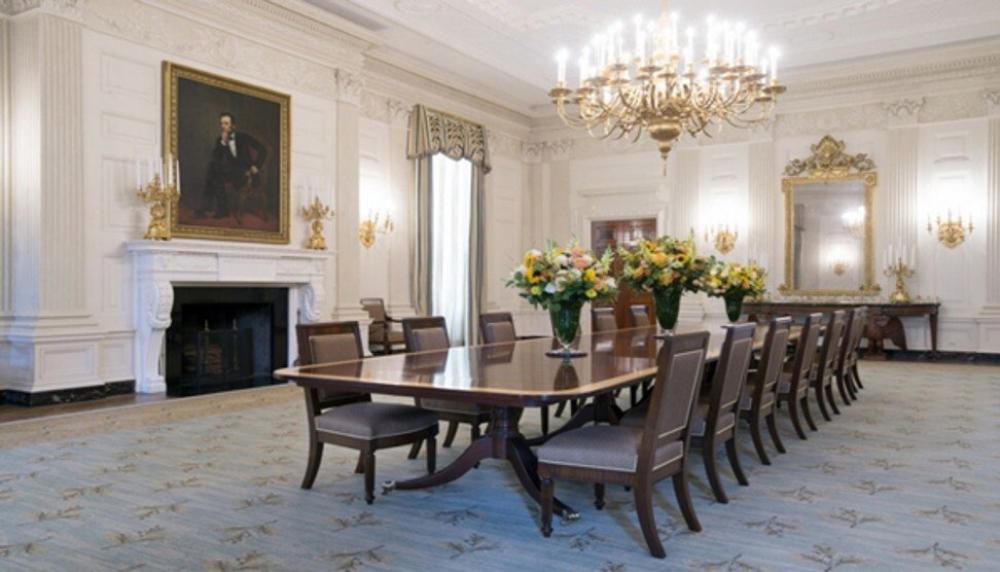 Cận cảnh nơi ở của gia đình tổng thống Mỹ trong Nhà Trắng Ảnh 5