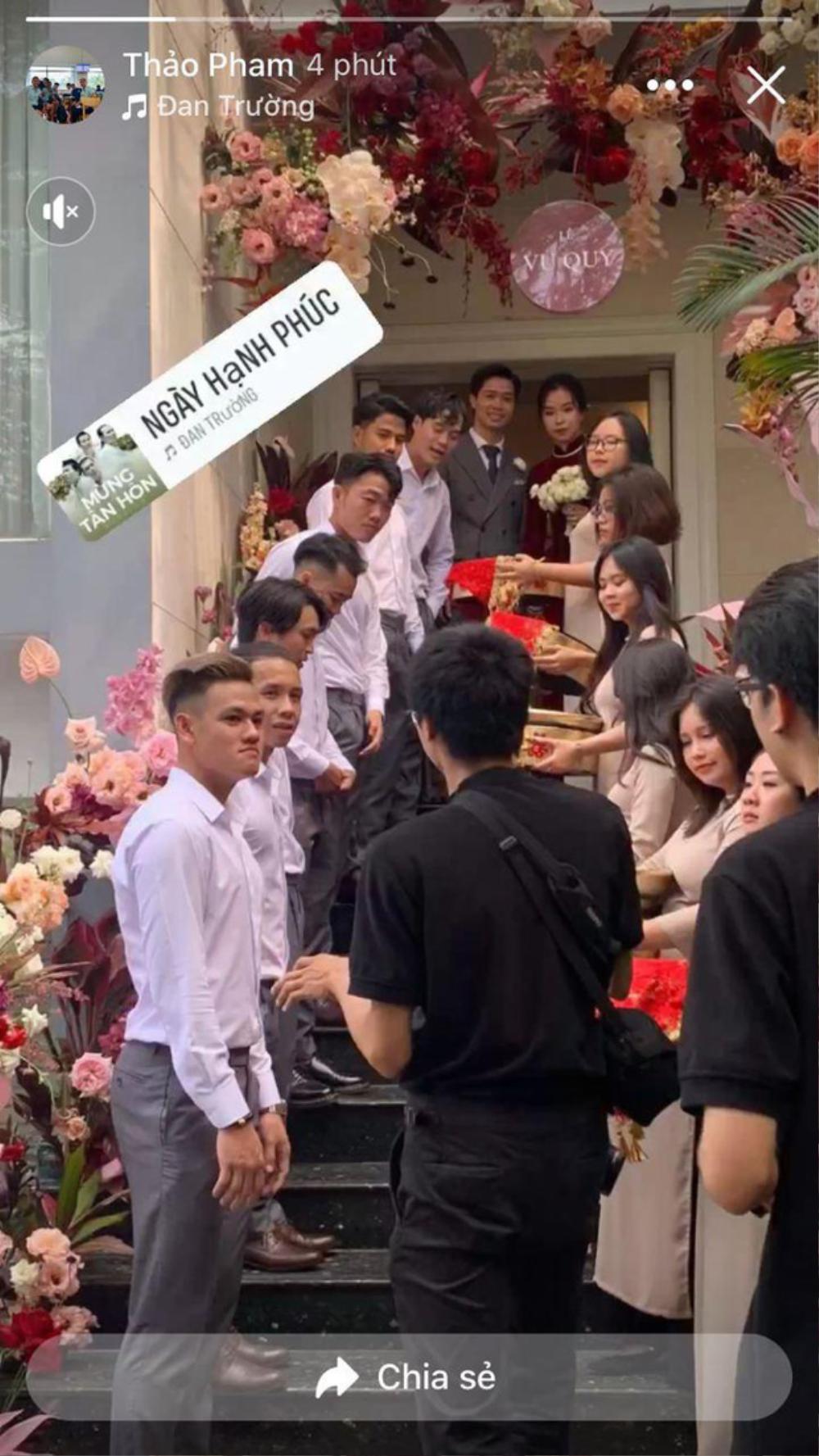 Nhan sắc ngọt ngào đằm thắm của cô dâu Công Phượng trong ngày cưới Ảnh 1