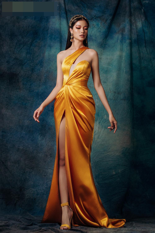 Lâm Bích Tuyền hóa nữ thần lộng lẫy, gợi ý loạt trang phục dạ hội cuối năm Ảnh 5