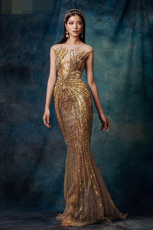 Lâm Bích Tuyền hóa nữ thần lộng lẫy, gợi ý loạt trang phục dạ hội cuối năm Ảnh 11