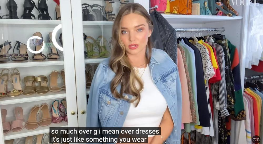 Thiên thần Miranda Kerr lần đầu tiết lộ tủ đồ và những món thời trang ruột Ảnh 8