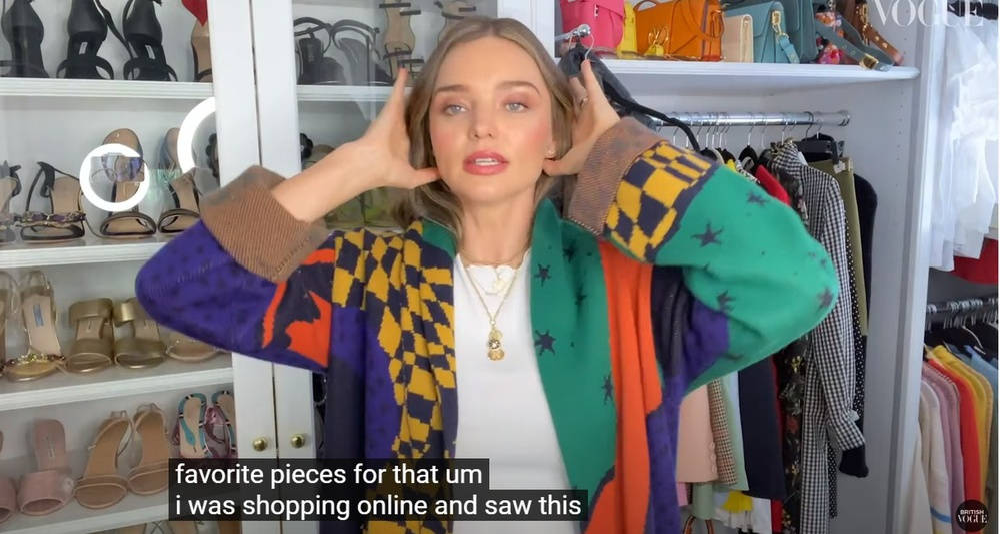 Thiên thần Miranda Kerr lần đầu tiết lộ tủ đồ và những món thời trang ruột Ảnh 9
