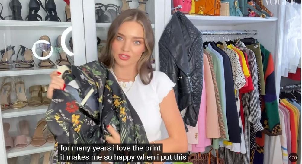 Thiên thần Miranda Kerr lần đầu tiết lộ tủ đồ và những món thời trang ruột Ảnh 10
